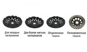 Алмазные чашки  DIASURF Ø125 мм
