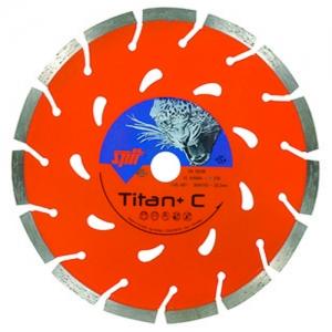 Алмазные диски TITAN+C Ø125-230 мм